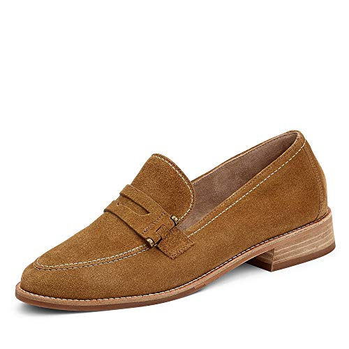 Paul Green 2587 Damen Slipper Cognac, EU 38