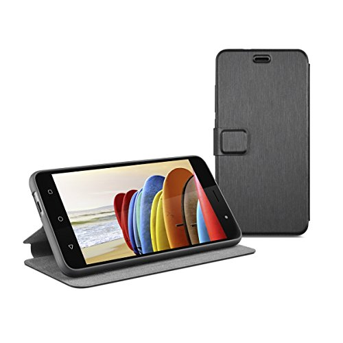 Gigaset Smartphone Book Case - Schutzhülle - anti-scratch - Handy Schutz - Full Body Beidseitiger 360°Schutz - Rundum-Schutz Zubehör - für GS270 / GS270 Plus - schwarz