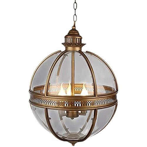 Kroonluchter, rustieke stijl kroonluchter, genieten Finish Boerderij Orb kroonluchter verlichting Flush Ceiling lichtpunt Pendant Lamp Dining Room