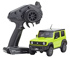 Kyosho 32523Y - Mini-Z 4X4 Suzuki Jimny Sierra, Ready Set, Kinetic Yellow Features: Complete chassis with built-in electronics. Factory-painted body complete with many fine details KT-531P 2.4GHz transmitter Pinion gear set(10T,12T,14T,16T,18T,20T) 3...