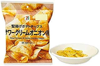 【販路限定品】カルビー 堅揚げポテトチップス サワークリームオニオン味 50g×12袋