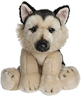 Wildlife Tree 12 Inch Stuffed German Shepherd Puppy Dog Plush Floppy Pet Kingdom Collection