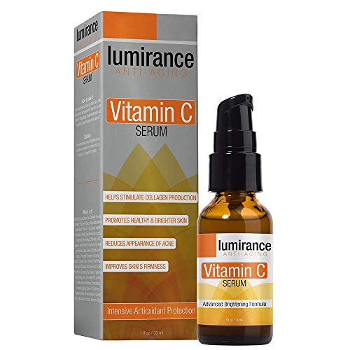 Lumirance Anti-Aging Vitamin C Serum, Advanced Brightening Formula with Natural Ingredients, Promote Healthy & Brighter Skin, Reduces Acne, Hydrates & Smooths Fine Lines for All Skin Types 1oz / 30ml