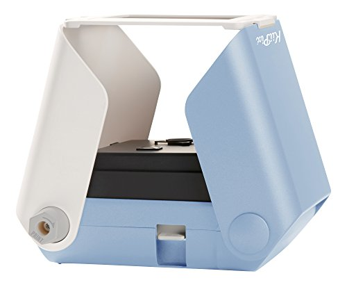TOMY KIIPIX - Imprimante Photo Portable Bleue E72752, Mini Imprimante Photo Couleur 1 ppm, Imprimante instantanée Polaroïd, Scanner Portable Adapté aux 14ans+