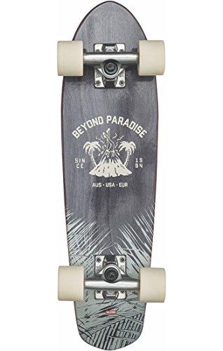 Globe Bantam EVO Skateboard, Unisex, für Erwachsene, Unisex, 10525338, Schwarz (Black Maple), 24