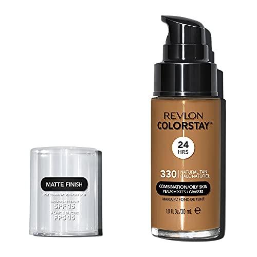 Revlon ColorStay Makeup for Combi/Oily Skin Natural Tan 330, 1er Pack (1 x 30 g)