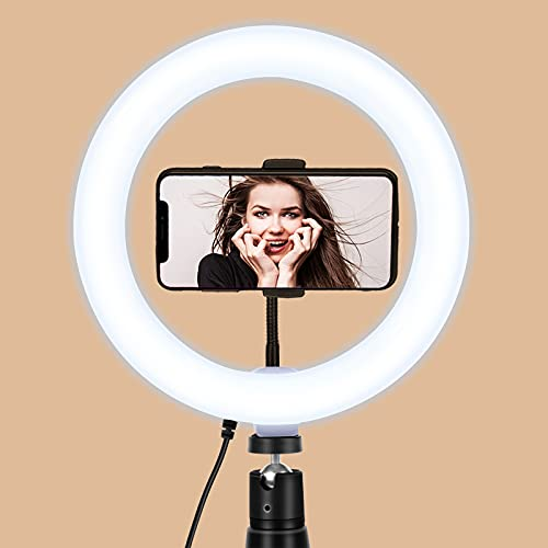 $4.48 8 inch Selfie Ring Light Use promo code:  7039ZJKN There is a quantity limit of 1