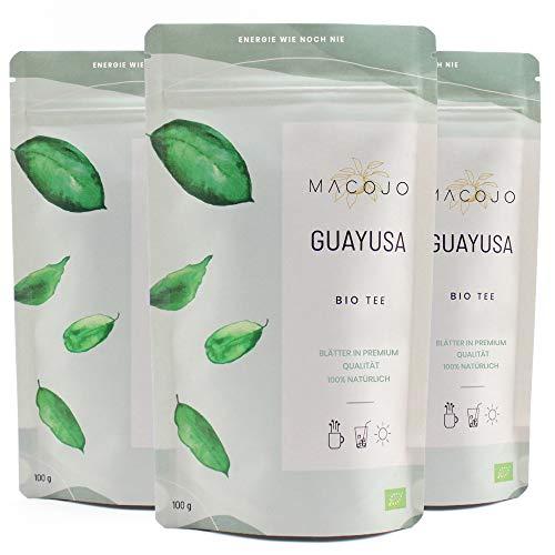 BIO Guayusa Tee - 300g Premium lose Blätter feinschnitt - 100% Natürlich, Nachhaltig und Vitalisierend - das Wunder aus dem Urwald Ecuadors - reich an Koffein und L-Theanin - MACOJO (300g)