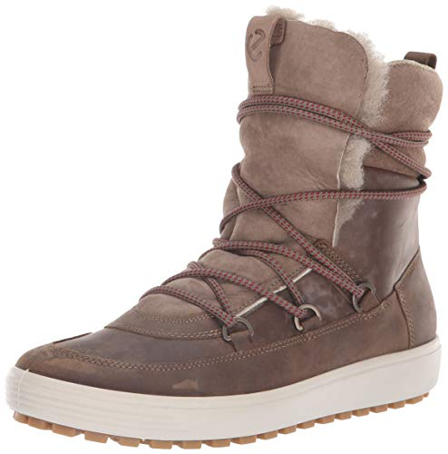 ECCO Damen Womens Soft 7 TRED Mid Hohe Stiefel, Braun (Navajo Brown/Moon Rock 57511), 38 EU