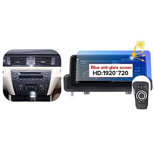 TypeBuilt Autoestereo Radio USB Coche Pantalla Táctil Capacitiva para BMW 3 Series E90 E91 E92 E93 2005-2012 Autorradio GPS Navegación Cámara De Respaldo Estéreo De Coche Audio Video Player SW