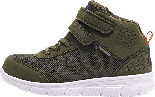 hummel Unisex-Kinder Crosslite MID TEX JR Sneaker, Grün (Forrest Night 6152), 24 EU