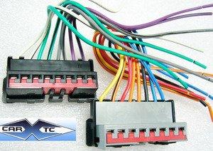 Ford Radio w RCA Amp Integration WIRE HARNESS 1991-2000
