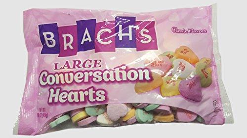 Brach's Large Conversation Hearts, Assorted Flavors, 16 Ounces