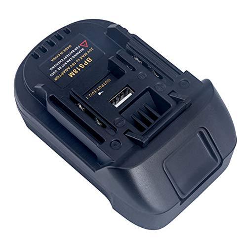 BPS18M batterie convertisseur Adaptateur pour porteur câble 20V lithium batterie pour Black & Decker 20V lithium pour MAKITA 18V BL1830 BL1840 batterie