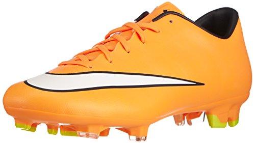 Nike Herren Mercurial Victory V FG Fußballschuhe, Orange (Laser Orange/White-Black-Volt 800), 44 EU