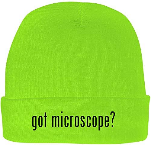 Shirt Me Up got Microscope? - A Nice Beanie Cap, Neon Green, OSFA