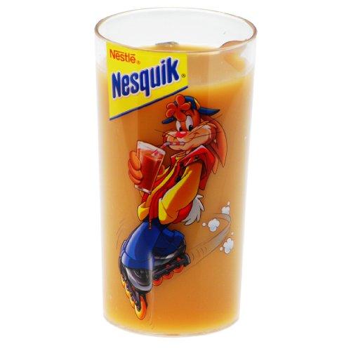Nestle Nesquik Kakaobecher Trinkbecher Becher Hase mit Inliner Kunststoff 350 ml