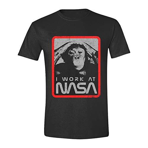 PCM NASA T-shirt I Work at NASA size L Shirts