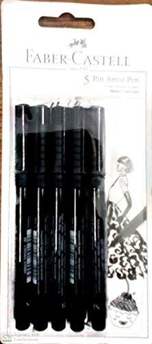 [Apply 55% off coupon ] FC Pitt Artist Pen (Xs, S, F, B, Sb) Set H