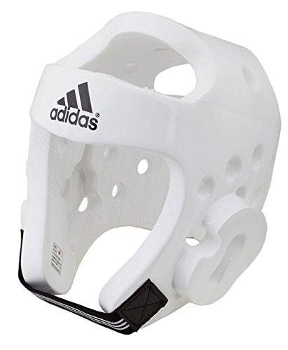 Adidas WTF Schaumstoff-Kopfschutz, Größe S, Weiß