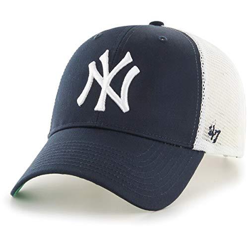 47 Brand Erwachsene Mlb New York Yankees Branson Mvp Kappe, Navy, OSFA