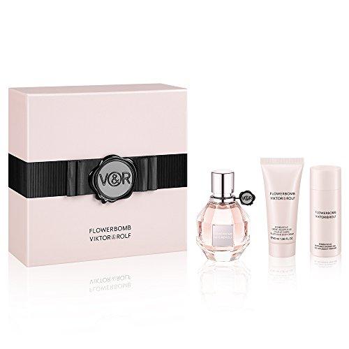 Viktor & Rolf Damendüfte Flowerbomb Geschenkset Eau de Parfum Spray 50 ml + Shower Gel 50 ml + Body Lotion 40 ml 1 Stk.