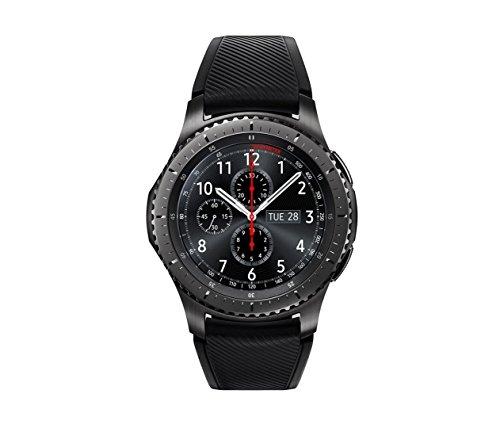 Samsung Gear S3 Frontier Smartwatch, GPS, IP68, Nero/Grigio [Versione...