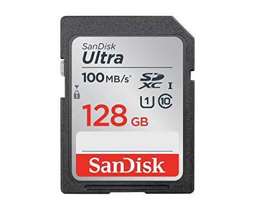 【 サンディスク 正規品 】 SDカード 128GB SDXC Class10 UHS-I 読取り最大100MB/s SanDisk Ultra SDSDUNR-128G-GHENN エコパッケージ