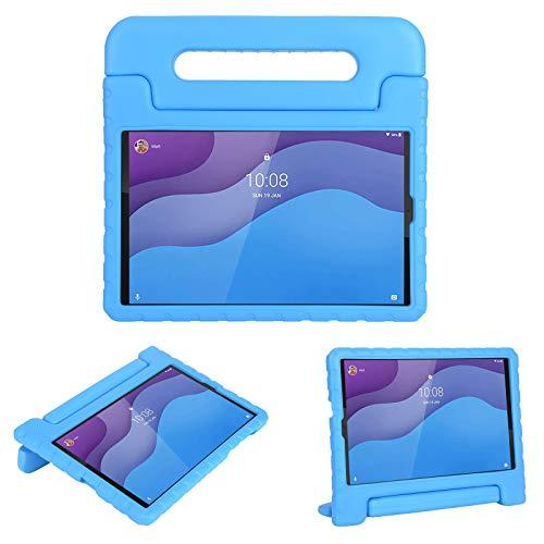 cradle HR Compatible con niños Funda Protectora para Lenovo Tab M10 HD (2nd Gen) TB-X306X/TB-X306F 10.1 Pulgadas 2020 Tablet, EVA Ligera Funda Protectora a Prueba de Golpes (Azul)