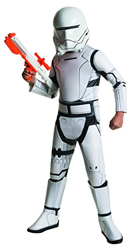 Rubie's - Disfraz oficial de Disney Star Wars Super Deluxe Flametrooper, para niño, talla grande