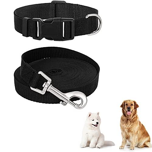 Tiopeia - Correa de adiestramiento para perro y collar para perro, nailon,...