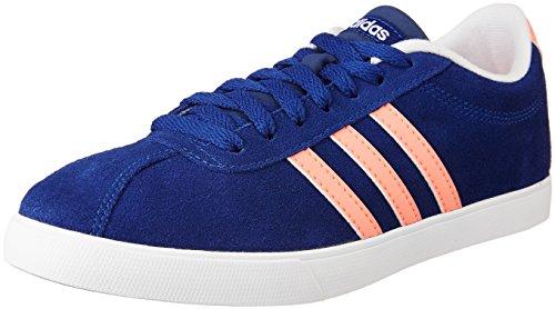 adidas Damen Courtset W Fitnessschuhe, Mehrfarbig Tinuni Brisol Ftwbla, 36 EU