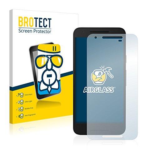 BROTECT Panzerglas Schutzfolie kompatibel mit LG Nexus 5X - 9H Extrem Kratzfest, Anti-Fingerprint, Ultra-Transparent
