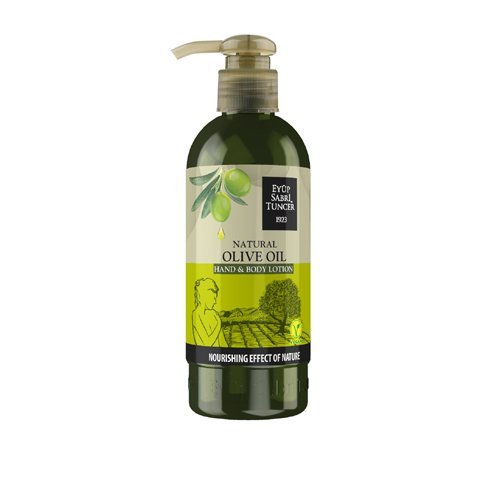 Eyup Sabri Tuncer 100% organic vegan 250 ml olive oil hand and body cream