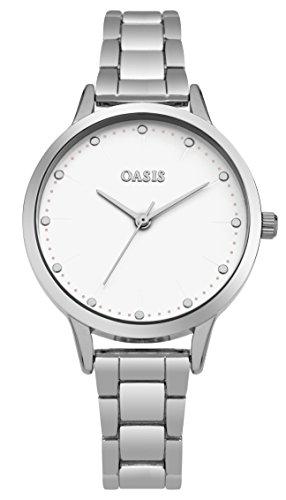 Oasis Damen-Armbanduhr Analog Quarz SB003SM