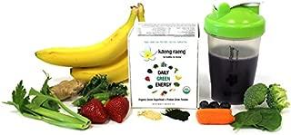Kaeng Raeng Daily Green Energy - Organic, Caffeine Free Superfood Protein Powdered Drink Mix (15 ct)
