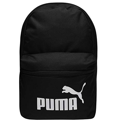 PUMA Phase Small Backpack Mochilla, Unisex niños, Black, OSFA