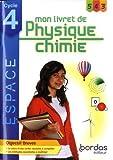 ESPACE Physique Chimie Cycle 4 2020 Livret de connaissances élève - Cycle 4 - Mon livret de Physique-Chimie