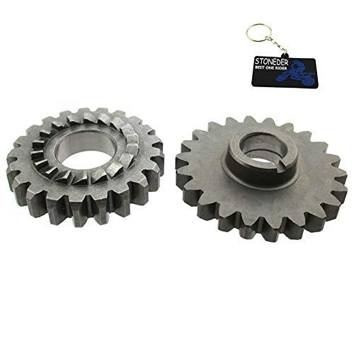 STONEDER Engine Kick Start Gears pour Z190 Zongshen 190 CC Pit Dirt Bike Zs1p62yml-2