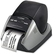 Brother Visitor Badge and Management Kit-Label Printer Kit, 300x600 dpi, 5-3/10x8-1/5x5-3/5