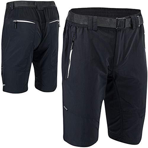 Silvini Rango - Pantalones de montaña para hombre, primavera/verano, Hombre, color Rango 2020, color negro y blanco., tamaño large