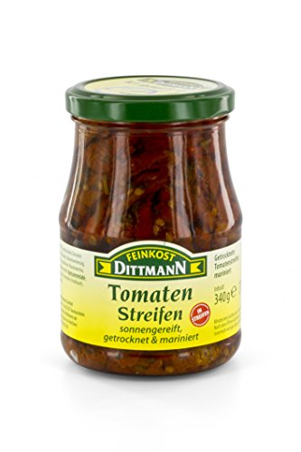Feinkost Dittmann Tomatenstreifen getrocknet und mariniert, 340g