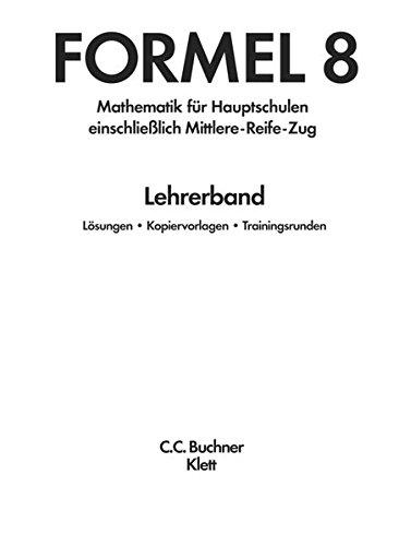 Formel / Formel LB 8 – alt: Mathematik für Hauptschulen (Formel: Mathematik für Hauptschulen)