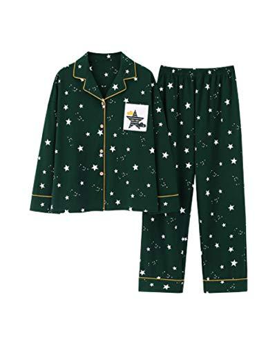 Pijamas para Mujer,Conjunto De Pijama De Mujer Pjs Cárdigan