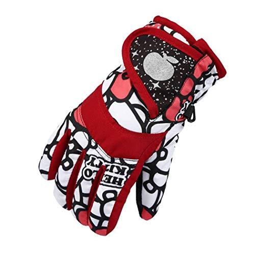 SPLAN Handschuhe für Männer und Frauen, wasserdicht, warm und kalt, Radfahren, Outdoor-Skaten und Skifahren