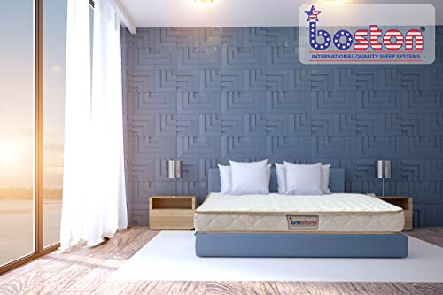 Boston Organic 5 Inch 100% Pure Certified Natural Latex Queen Size Mattress (72 x 60 x 5 Inch)