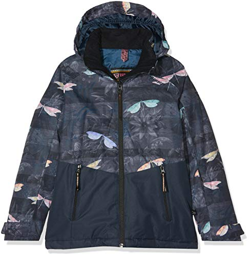 Brunotti Mädchen Tiger-Heron JR Girls Snowjacket Jacke, Space Blue, 140.0