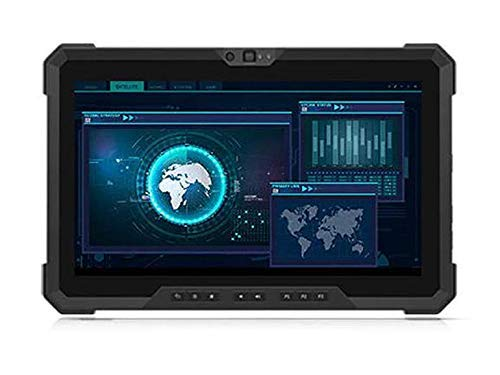 """Dell Latitude 7220 Rugged Tablet, 11.6"""" FHD Touch Outdoor-Readable, Intel Core i7-8665U (1.90 GHz, Quad-Core), 8GB RAM, M.2 256GB SSD NVMe, Windows 10 Pro (Renewed)"""