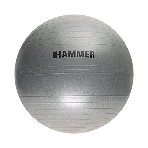 Hammer Martillo–Pelota de Gimnasia pequeño Fitness, Unisex, Gymnastikball, Gris
