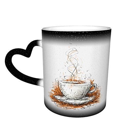 Taza de café con texto en inglés 'Boss Coworker', divertida taza de café, regalo para oficina, taza mágica, 325 ml